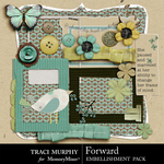 Forward Embellishment Pack-$2.49 (Traci Murphy)
