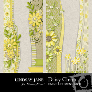 Daisy chain borders medium