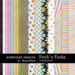 Fresh n Funky Paper Pack-$3.99 (Jumpstart Designs)