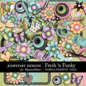 Fresh n funky emb medium