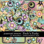 Fresh n Funky Embellishment Pack-$4.99 (Jumpstart Designs)