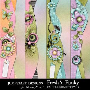Fresh n funky borders medium