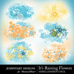 Its Raining Flowers Scatters Pack-$1.50 (Jumpstart Designs)