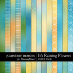 Its Raining Flowers Add On Paper Pack-$2.99 (Jumpstart Designs)