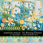 Its Raining Flowers Add On Embellishment Pack-$2.00 (Jumpstart Designs)