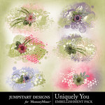 Uniquely You Scatters Pack-$1.99 (Jumpstart Designs)