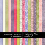 Uniquely You Paper Pack-$2.99 (Jumpstart Designs)