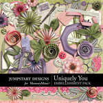 Uniquely You Embellishment Pack-$2.99 (Jumpstart Designs)
