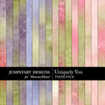 Uniquely You Add On Paper Pack-$2.99 (Jumpstart Designs)