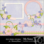 My Sister Borders Pack-$1.99 (Fly Pixel Studio)