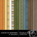 Outdoor Adventure Paper Pack-$3.99 (Albums to Remember)