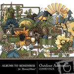 Outdoor Adventure Embellishment Pack-$2.99 (Albums to Remember)