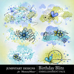 Birthday Blitz Scatters Pack-$2.99 (Jumpstart Designs)