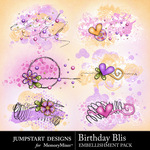 Birthday Bliss Scatters Pack-$1.99 (Jumpstart Designs)