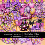 Birthday Bliss Embellishment Pack-$4.99 (Jumpstart Designs)