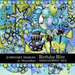 Birthday Blitz Embellishment Pack-$2.99 (Jumpstart Designs)