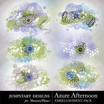 Azure Afternoon Scatters Pack-$2.99 (Jumpstart Designs)