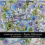 Azure Afternoon Embellishment Pack-$4.99 (Jumpstart Designs)