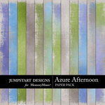 Azure Afternoon Add On Paper Pack-$3.99 (Jumpstart Designs)