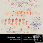 One Year Older Scatterz Pack-$1.99 (Lindsay Jane)