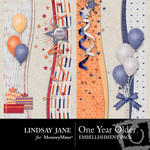 One Year Older Border Pack-$1.99 (Lindsay Jane)
