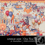 One Year Older Embellishment Pack-$3.99 (Lindsay Jane)