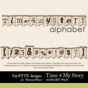 Time 4 my story alpha medium