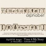 Time 4 My Story Alphabet Pack-$1.99 (Ettes and Company by Fayette)