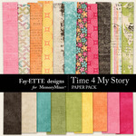 Time 4 My Story Paper Pack-$3.99 (Fayette Designs)