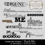 Teach Me WordArt Pack-$2.49 (Word Art World)