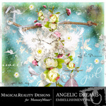 Angelic Dreams Embellishment Pack-$2.99 (MagicalReality Designs)