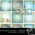 Angelic Dreams Paper Pack-$2.00 (MagicalReality Designs)