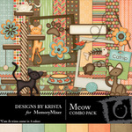 Meow Combo Pack-$3.49 (Designs by Krista)