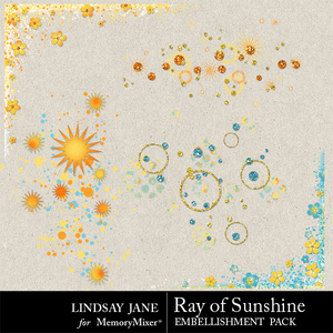 Ray of sunshine scatterz medium