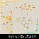Ray of Sunshine Scatterz Pack-$1.99 (Lindsay Jane)