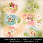 Pretty Is As Pretty Does Scatters Pack-$2.99 (Jumpstart Designs)