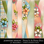Pretty Is As Pretty Does Border Pack-$2.99 (Jumpstart Designs)