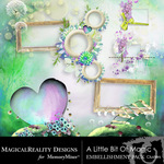 A Little Bit of Magic Cluster Pack-$1.99 (MagicalReality Designs)