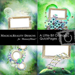A Little Bit of Magic Quick Page QuickMix-$3.49 (MagicalReality Designs)