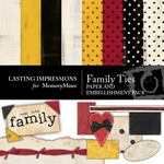 Family Ties Kit-$4.00 (Lasting Impressions)