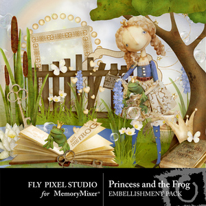 Princess and the frog emb medium