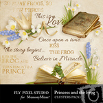 Princess and the Frog Cluster Pack-$1.99 (Fly Pixel Studio)