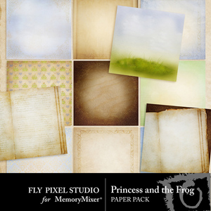 Princess and the frog pp medium