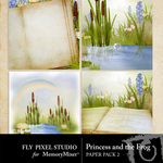 Princess and the Frog Scene Paper Pack-$2.99 (Fly Pixel Studio)