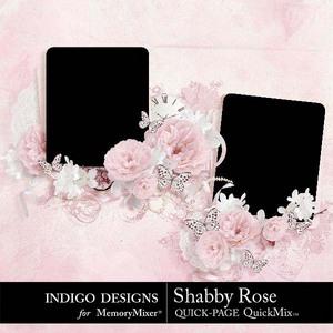Shabby rose qp medium