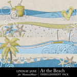 At the Beach Border Pack-$1.00 (Lindsay Jane)