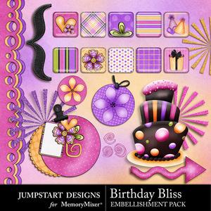 Birthday bliss add on emb medium