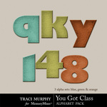 You Got Class Alphabet Pack-$0.99 (Traci Murphy)