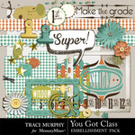 You Got Class Embellishment Pack-$2.99 (Traci Murphy)