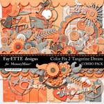 Color Fix 2 Tangerine Dream Combo Pack-$6.99 (Ettes and Company by Fayette)